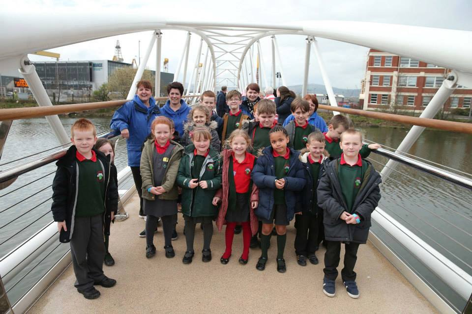 BCA at opening of the Sam Thompson Bridge